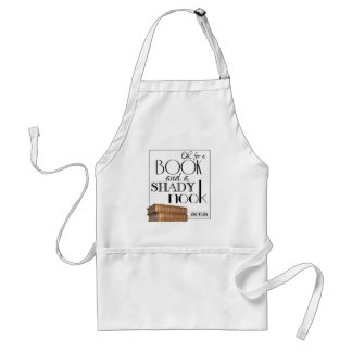 Oh for a book and a shady nook standard apron