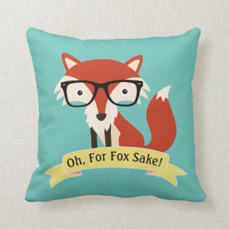 Oh! For Fox Sake Cushion