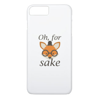 Oh, For Fox Sake iPhone 7 Plus Case