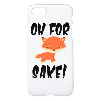Oh for fox sake! iPhone 8/7 case