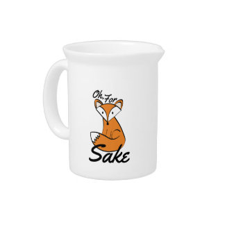 Oh, For Fox Sake Pitcher