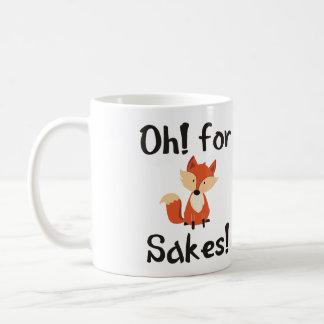 OH! FOR FOX SAKES! BASIC WHITE MUG