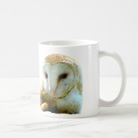Oh Handsome Barn Owl Coffee Mug
