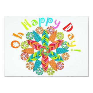 Oh Happy Day! 13 Cm X 18 Cm Invitation Card