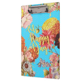 Oh Happy Day! - Blue Clipboard