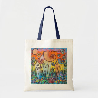 Oh, Happy Day! Budget Tote Bag