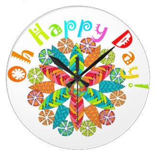 Oh Happy Day! Clocks