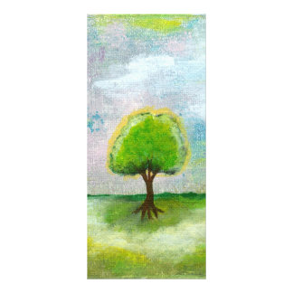 Oh Happy Day Design From Original Painting Personalized Rack Card