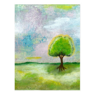 Oh Happy Day Design From Original Painting Postcard