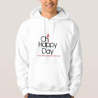 oh happy day jesus washed my sins away cross hoodi hoodie