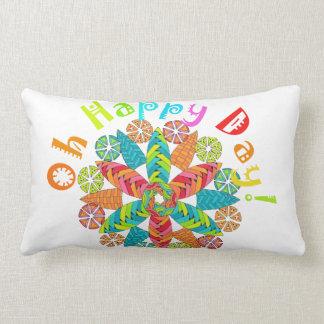 Oh Happy Day! Lumbar Pillow