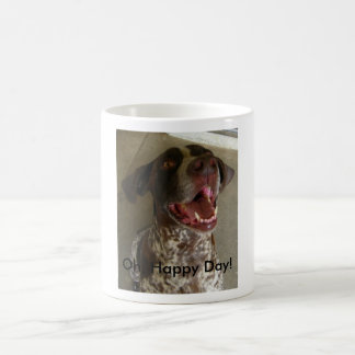 Oh, Happy Day! Classic White Coffee Mug