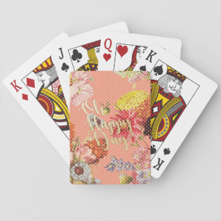 Oh Happy Day! - Pink Playing Cards