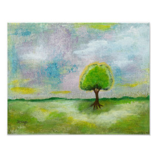 Oh Happy Day Print Poster From Original Painting