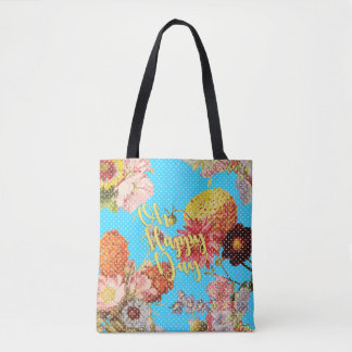 Oh Happy Day! Tote - Blue