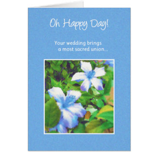 Oh Happy Day!...Wedding Greeting Card