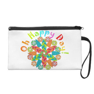 Oh Happy Day! Wristlet Clutches