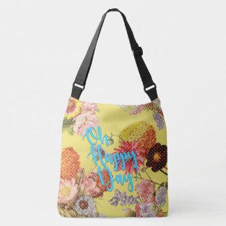 Oh Happy Day! Yellow Crossbody Bag
