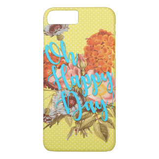 Oh Happy Day! Yellow iPhone 8 Plus/7 Plus Case