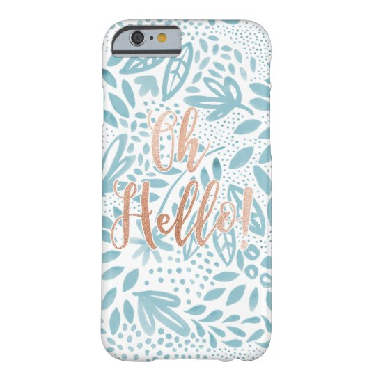Oh Hello - Belle Phone Cover