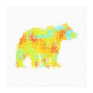 Oh, Hi Bear Canvas Print