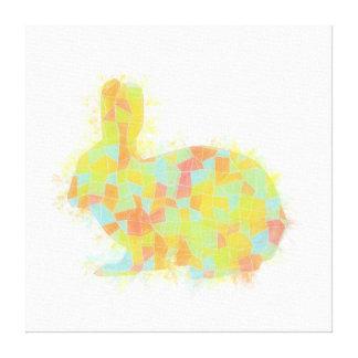 Oh, Hi Rabbit Canvas Print