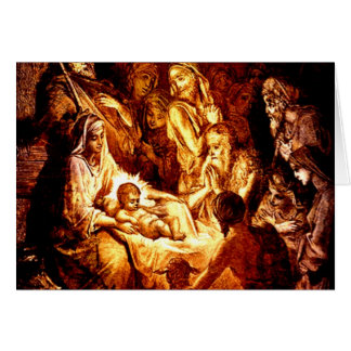 OH HOLY NIGHT! GREETING CARD