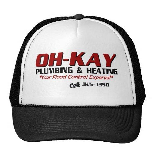 OH-KAY Plumbing & Heating Mesh Hats