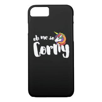 Oh me so CORNY iPhone 7 Case
