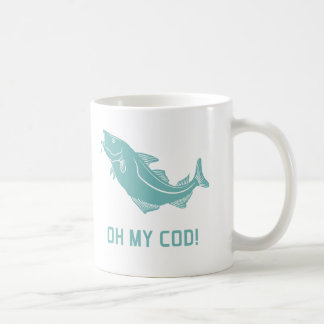 Oh My Cod Coffee Mug
