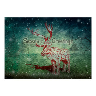Oh My Deer~ Merry Christmas! | Poster