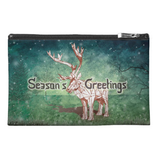 Oh My Deer~ Merry Christmas! |Travel Accessory Bag