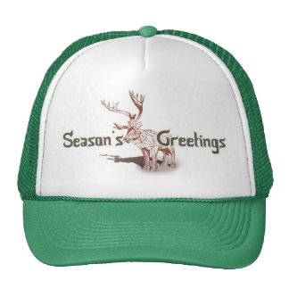 Oh My Deer~ Merry Christmas! | Trucker Hats