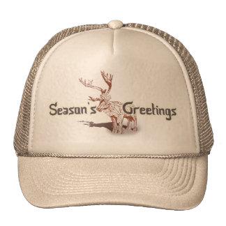 Oh My Deer~ Merry Christmas! | Trucker Hats