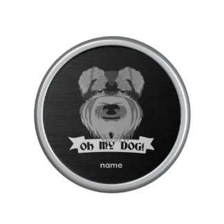 Oh My Dog Schnauzer Speaker
