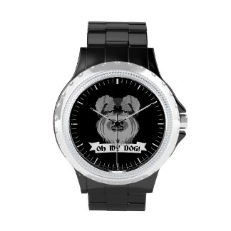 Oh My Dog Terrier Wrist Watches