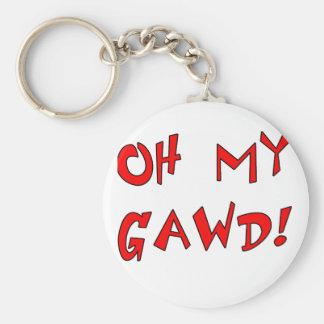 Oh My Gawd! OMG! Keychains