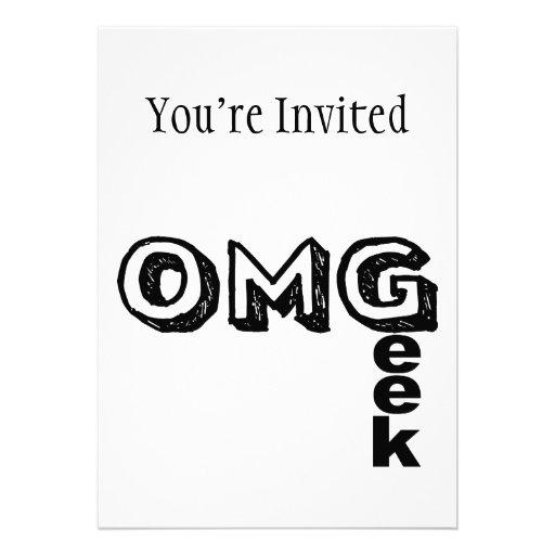 Oh My Geek Cards