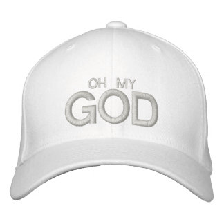 OH MY GOD - Customizable Cap at eZaZZleMan.com Embroidered Hat
