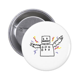 OH MY GOD ROBOTS BUTTONS