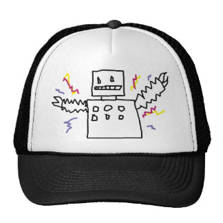 OH MY GOD, ROBOTS! TRUCKER HAT