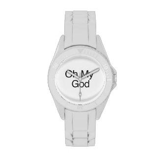Oh My God Wrist Watch