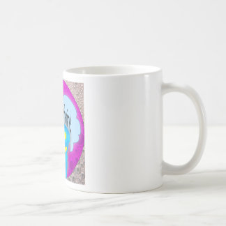 Oh my look at the time! basic white mug