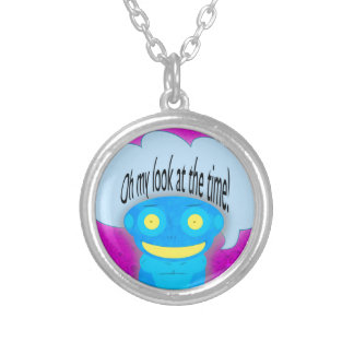 Oh my look at the time! pendant