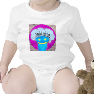 Oh my look at the time! baby bodysuits