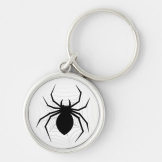 Oh my, there is a spider on your keychain! key ring