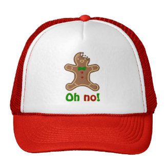 Oh no! Gingerbread Man Mesh Hat