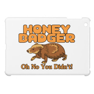 Oh No Honey Badger Case For The iPad Mini