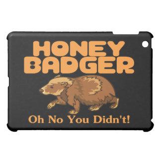 Oh No Honey Badger iPad Mini Cases
