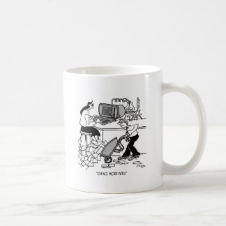Oh No. More Data! Basic White Mug